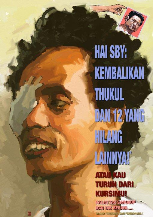 Wiji Thukul Yang Bernama Asli Widodo Seorang Penyair