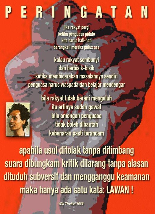 Ricky Febrian Puisi Puisi Wiji Thukul Ricky